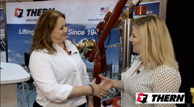 Thern's Amy Oesau highlights the company's offerings for the wastewater space, including high-quality lifting and hoisting equipment and cranes.